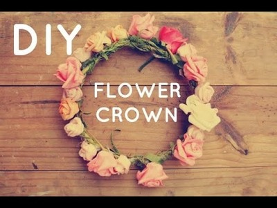 How i make my flower crown
