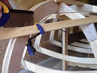 How to Cut Chines to Fit Flush with the Stem on a Wooden Boat