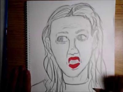 How to Draw Miranda Sings (Sketching & Coloring)