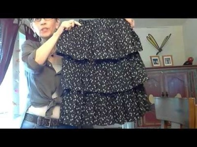 How To Make A Three Tier Skirt