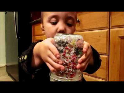 How to make SNOW GLOBES - step by step