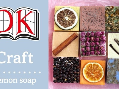 How to Make Soap: Natural Lemon Soap Recipe