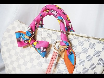 How to Tie a Hermes Twilly Bow