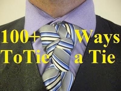 How To Tie a Necktie Kaleidoscope Knot