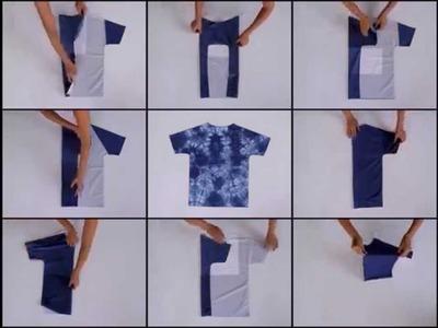 How you fold a T-shirt by Dana Ben Shalom