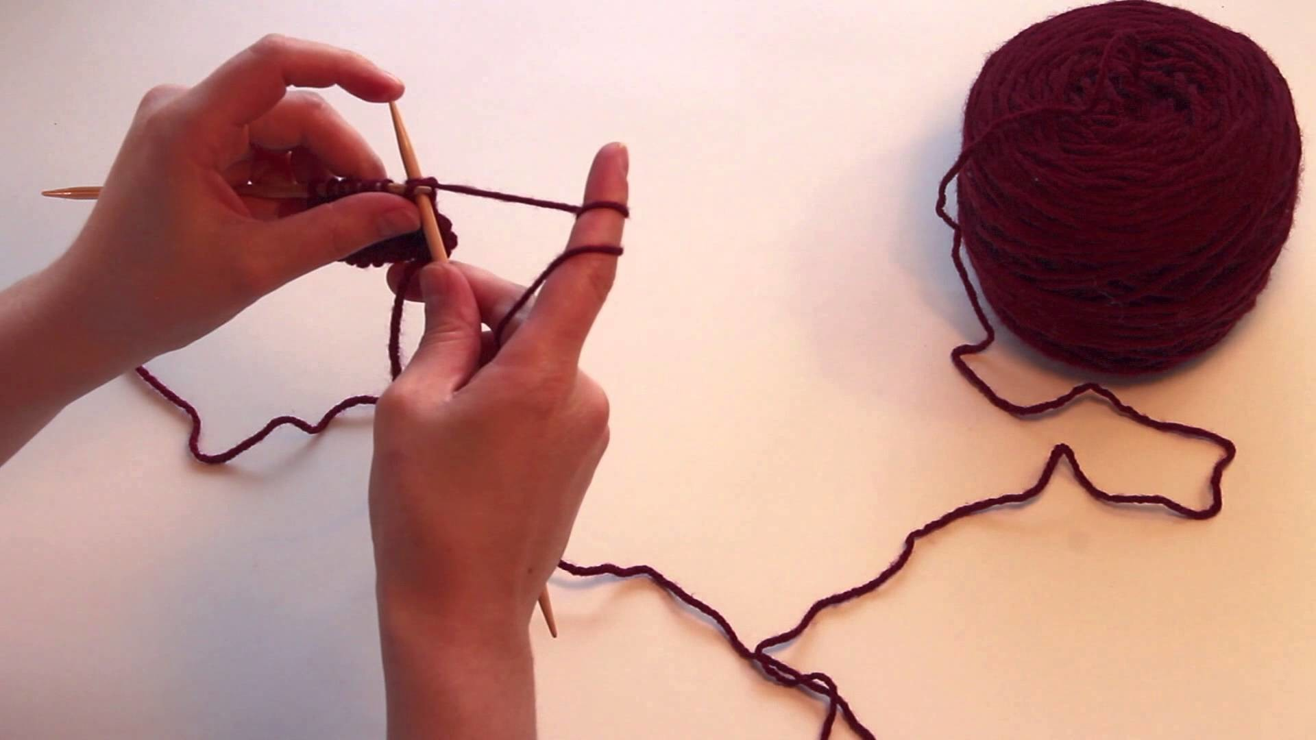Knitting Tutorial for Beginners: Bind Off or Cast Off