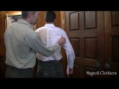 Magnoli Clothiers: How to measure the back width