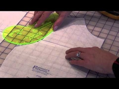 Pamela's Patterns - How to Shorten an Armhole and True a Pattern
