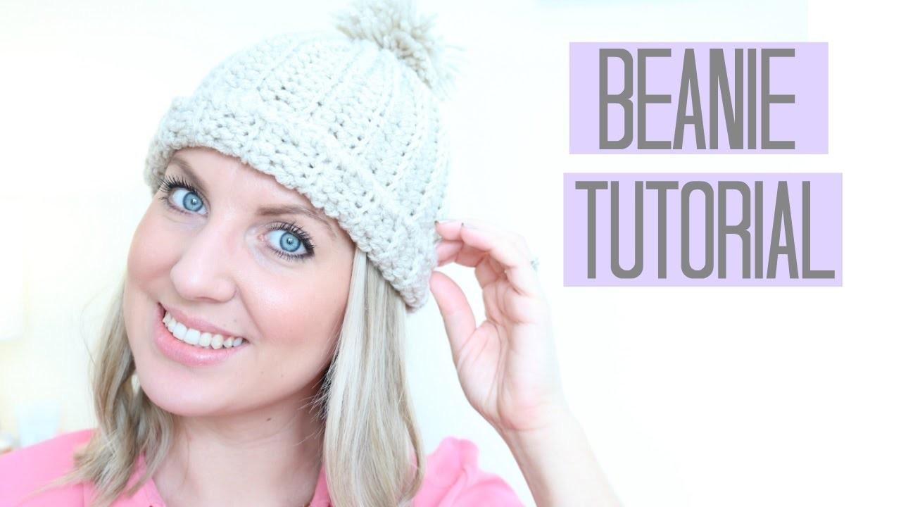 CROCHET: Beanie Hat tutorial | Bella Coco