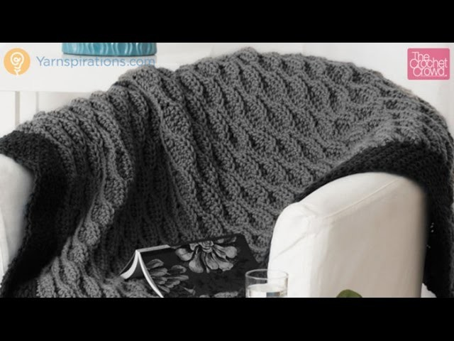Crochet Quick and Easy Blanket Tutorial