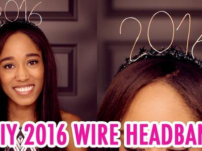 DIY 2016 Wire Headband for New Year's! - HGTV Handmade