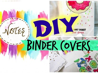 DIY-Binder covers. Easy and Affordable