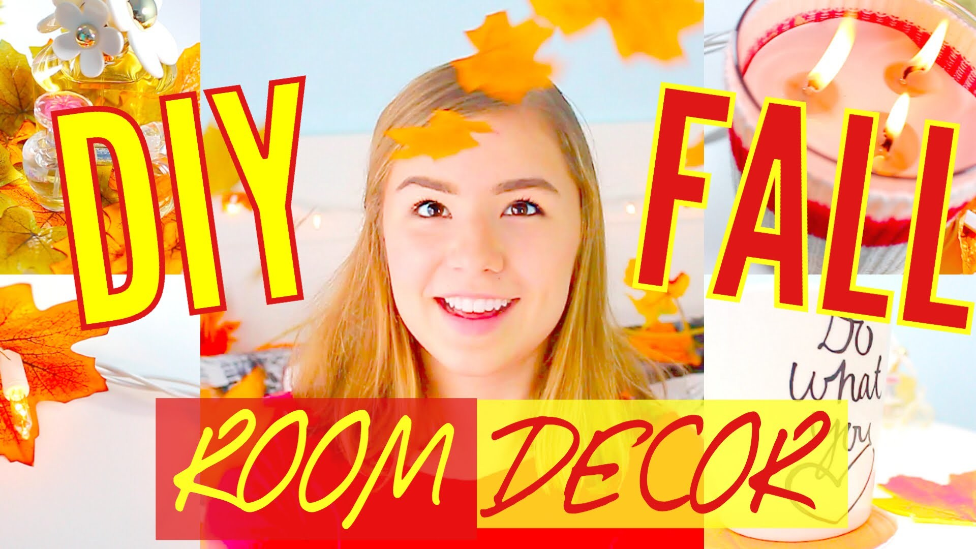DIY Cozy Fall Room Decor for Cheap! Tumblr Inspired