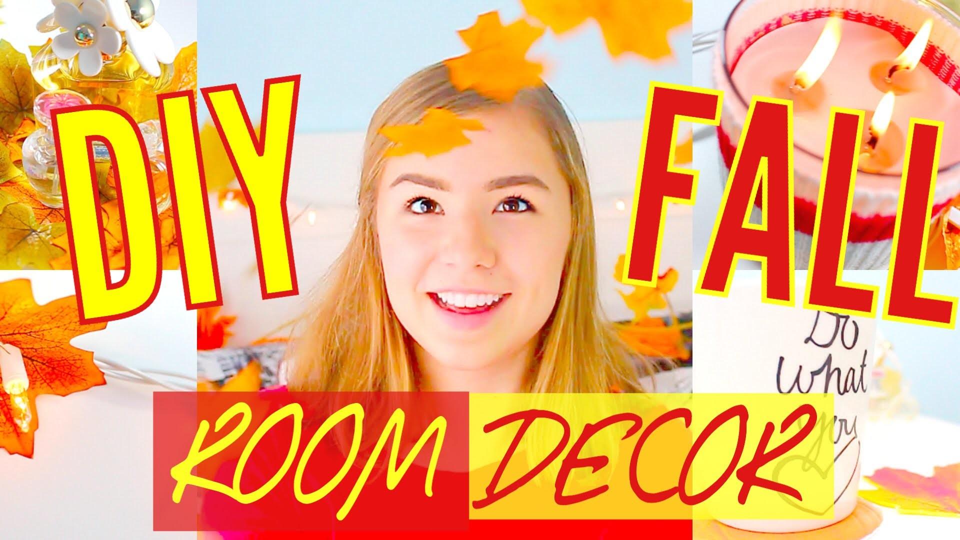 DIY Cozy Fall Room Decor for Cheap! Tumblr Inspired