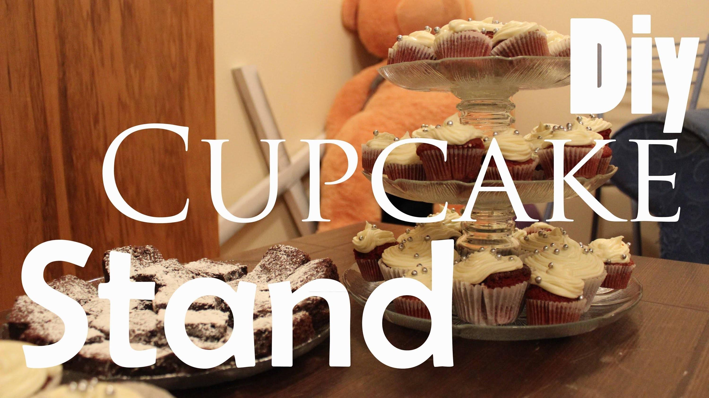 DIY: Cupcake Stand