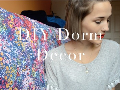 DIY Dorm Room Decor | College Series 2015