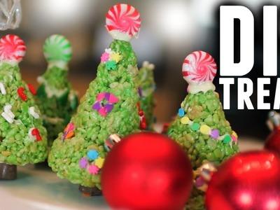 DIY: EASY HOLIDAY CHRISTMAS TREE TREATS