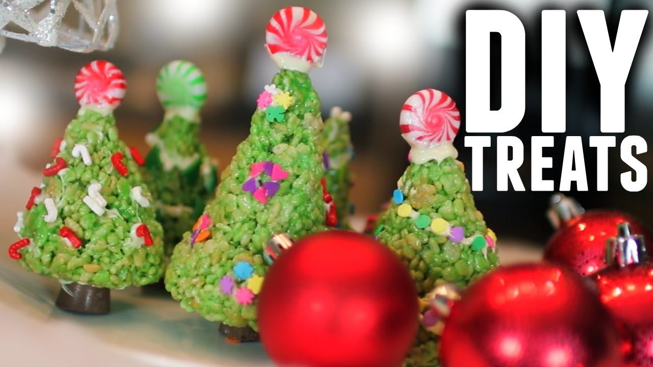 DIY: EASY HOLIDAY CHRISTMAS TREE TREATS