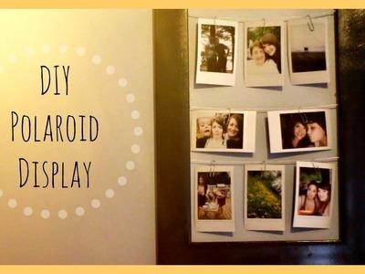 DIY: Polaroid Display!