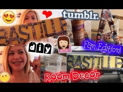 DIY: Room Decor | Fan Edititon & Tumblr Inspired!