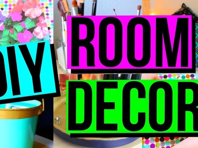 DIY ROOM DECOR + ORGANIZATION | Tumblr Inspired | Cute + Easy | CartneyBreanne