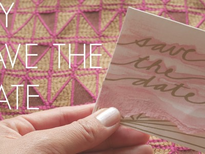 DIY SAVE THE DATE CARDS