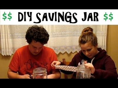 DIY Savings Jar