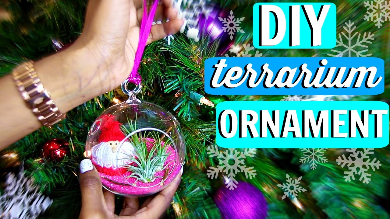 DIY Terrarium Ornament | Christmas Tree Decorations | Tashalala