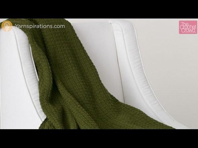 How to Crochet: Simple Texture Blanket Tutorial