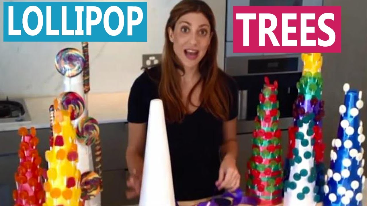 How To: DIY Lollipop Trees. Sweet Stand for a Candy Buffet