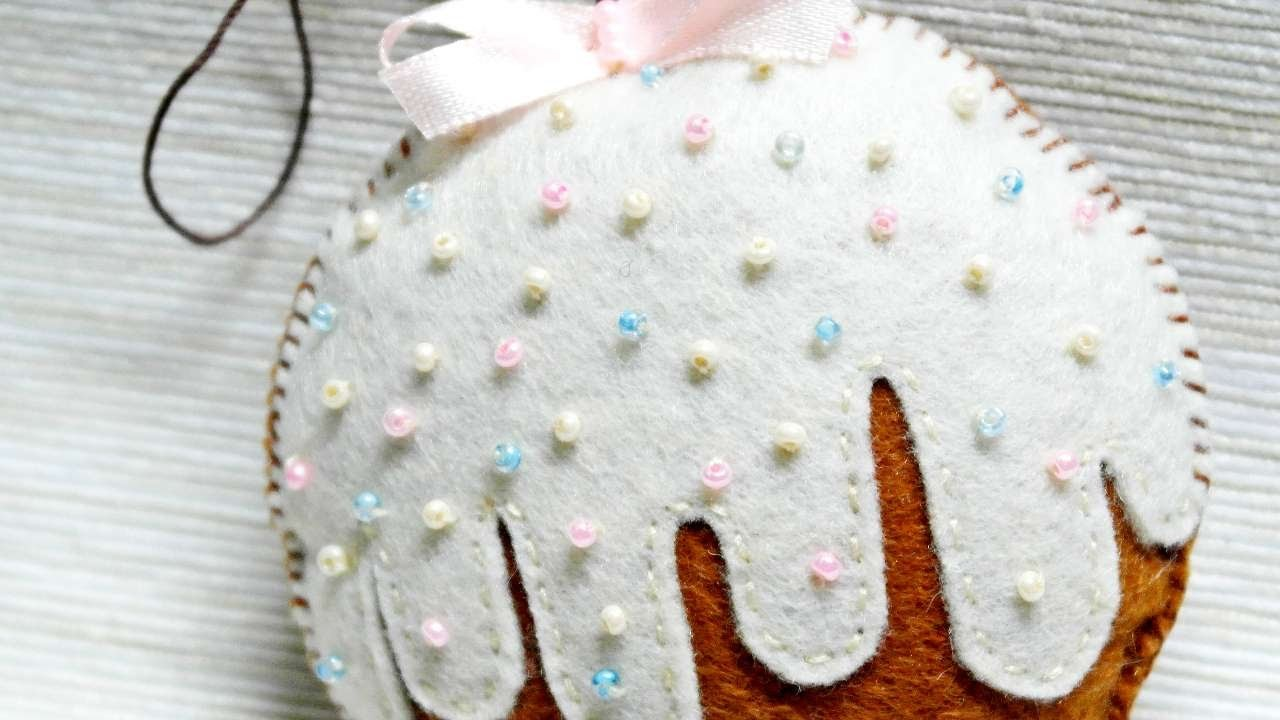 How To Make A Felt Sweet Christmas Tree Ball - DIY Crafts Tutorial - Guidecentral