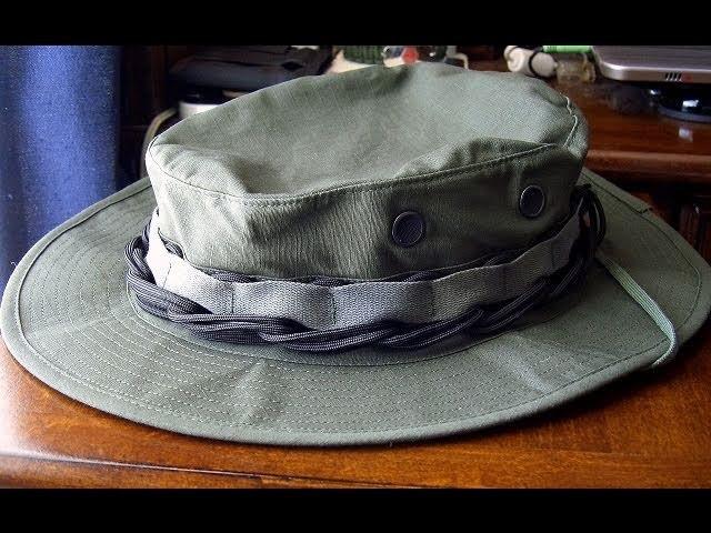 Paracord Chain Sinnet Fast Deployment Boonie Hatband