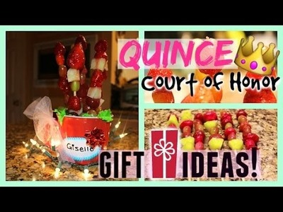 Quinceañera Court of Honor Gift Idea! DIY: Easy & Affordable!!