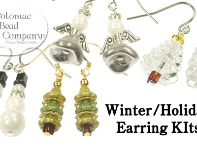 Winter, Christmas & Holiday Earring Kits