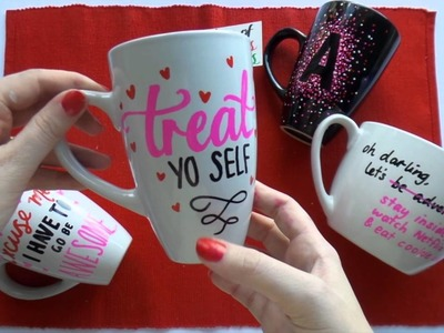 12 Days of Christmas Presents ~ DAY 11 ~ DIY Sharpie Mugs