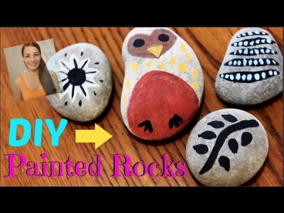 4 DIY painted rocks - Easy Room Decor