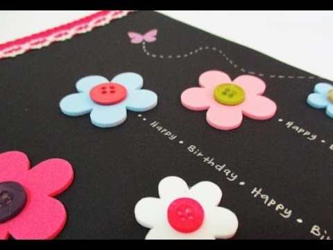 DIY : #115 Birthday Card ♥