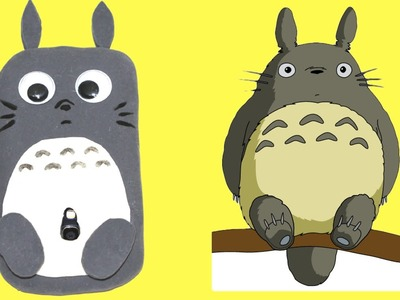 DIY  a silicone phone case Totoro phone