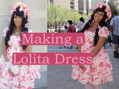 DIY (along): Lolita OP (dress)