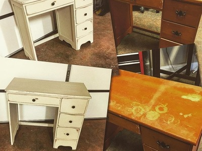 DIY: Chalk Paint Furniture - No Sanding or Priming! Using Dixie Bell Paint!