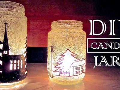 DIY Christmas Decorations   Candle Holders