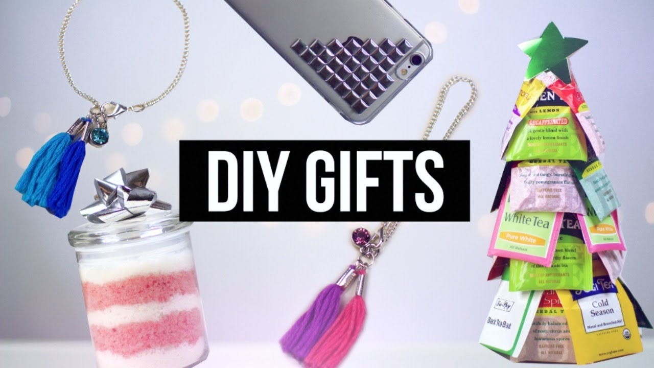 DIY Christmas Gifts People Actually Want! Pinterest 2015