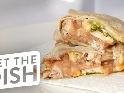 DIY Frozen Burritos | Get the Dish