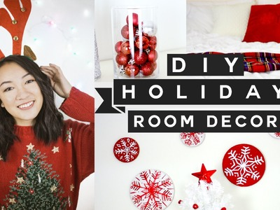 DIY Holiday Room Decor! ❄ Easy, Quick & Affordable!