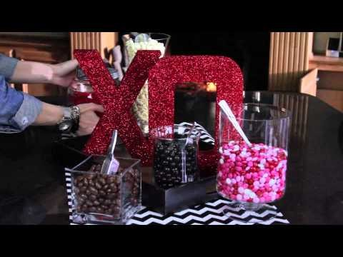DIY LOVE Letters Valentine's Day Decorations   ShowMeCute