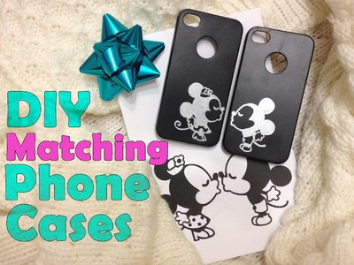 DIY Matching.Couple Phone Cases | Cheap Gift Idea
