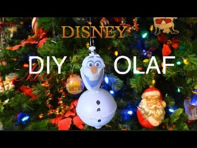 DIY Olaf Christmas Tree Ornament
