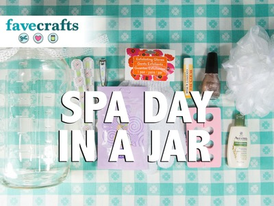 DIY Spa Day Gifts in a Jar
