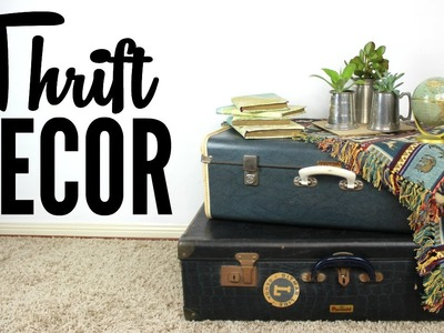 DIY Thrift Decor | Cheap & Easy Room Decor Ideas