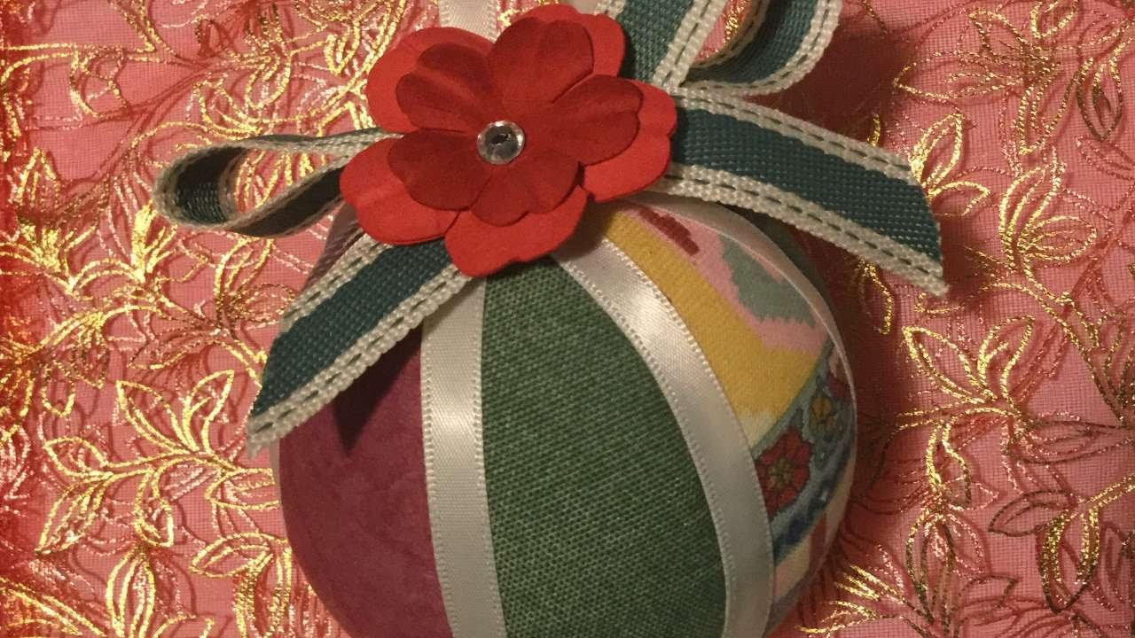 How To Make A Romantic Cloth Ball - DIY Crafts Tutorial - Guidecentral